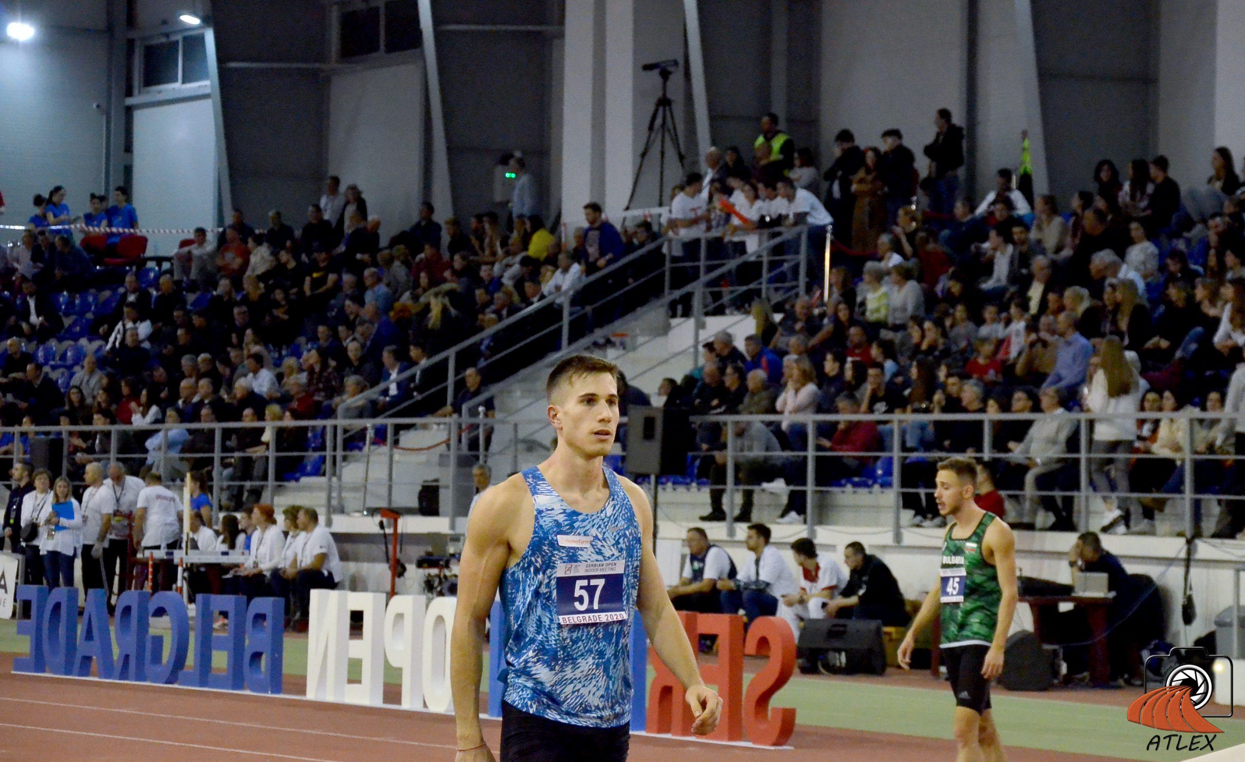 Strahinja Jovančević, 5. Serbian open indoor meeting 2020