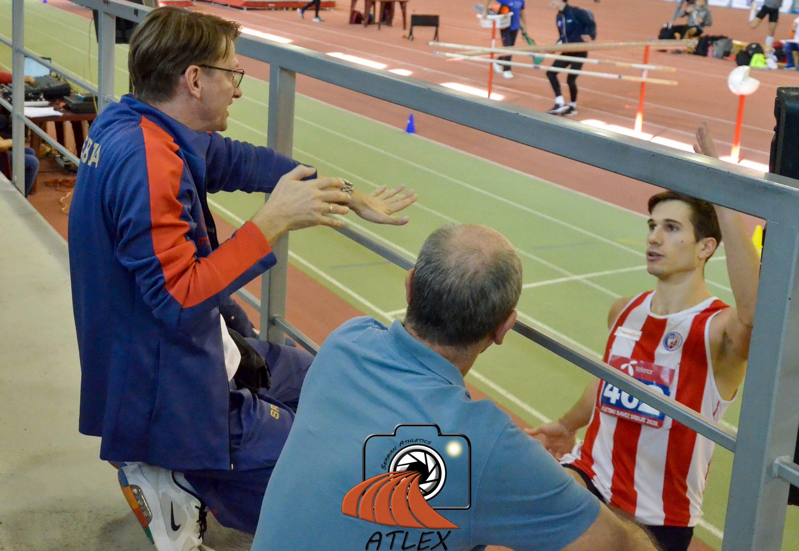 Strahinja Jovančević, Goran Obradović i Milorad Jovančević