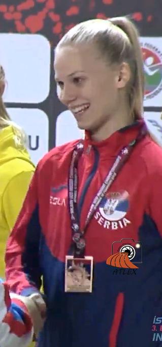 Tamara Vuletić, srebro juniorska Balkanijada 2019