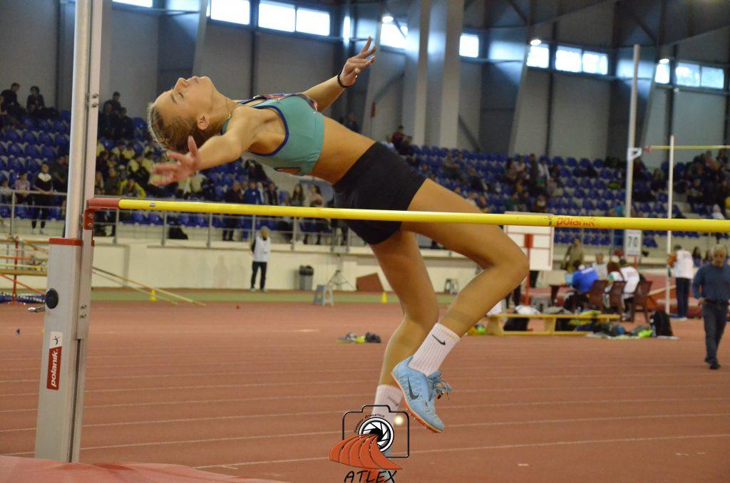 Zorana Rokavec, skok uvis, dvoransko prvenstvo Srbije 2020