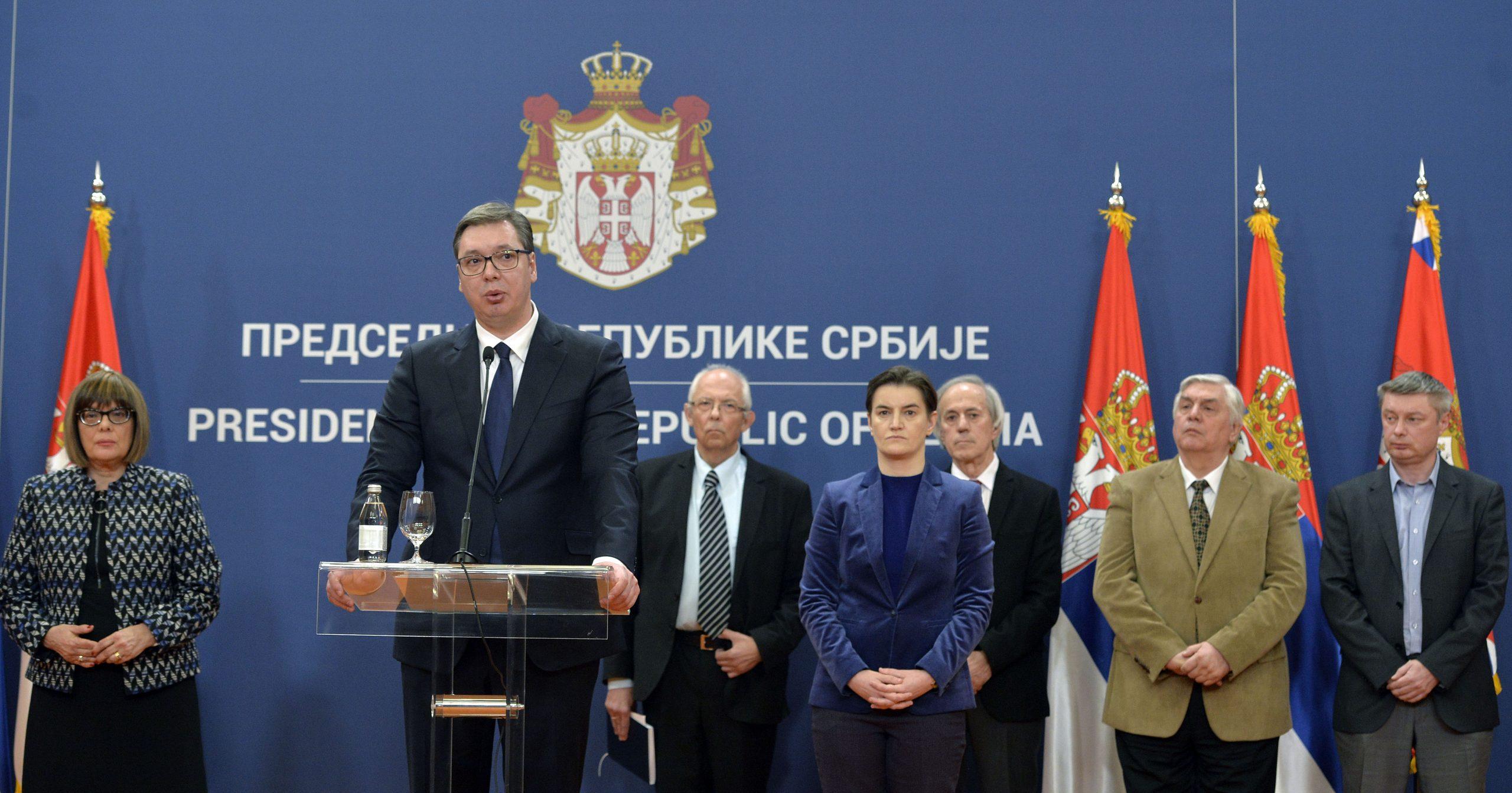 Aleksandar Vučić, predsednnik Srbije