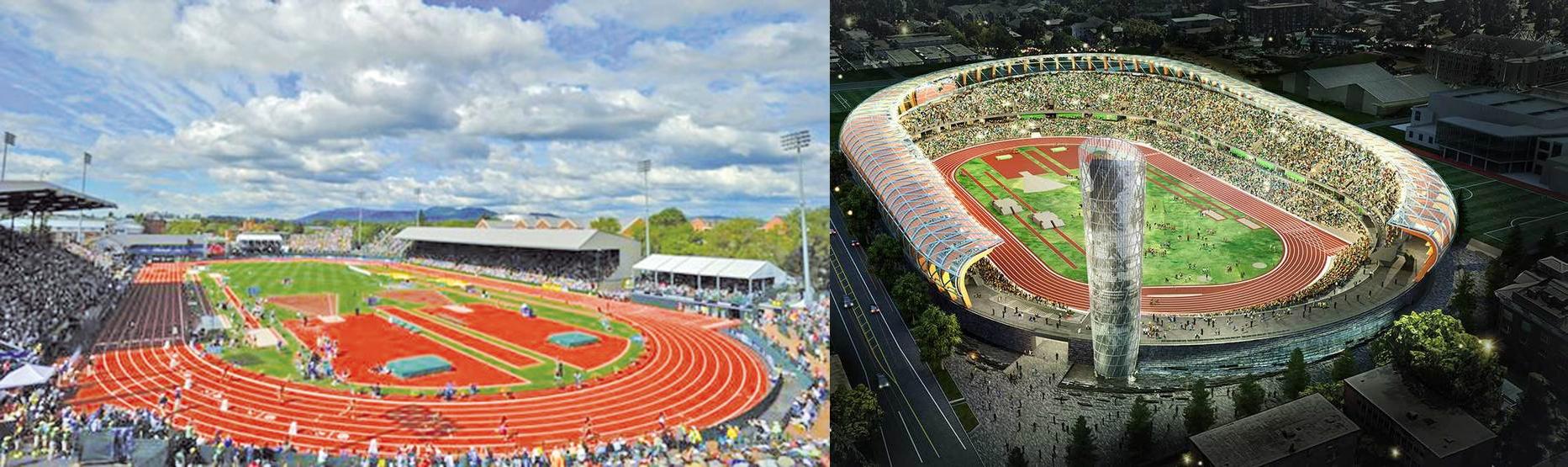 Atletski stadion u Oregonu (SAD), 2019 - 2021