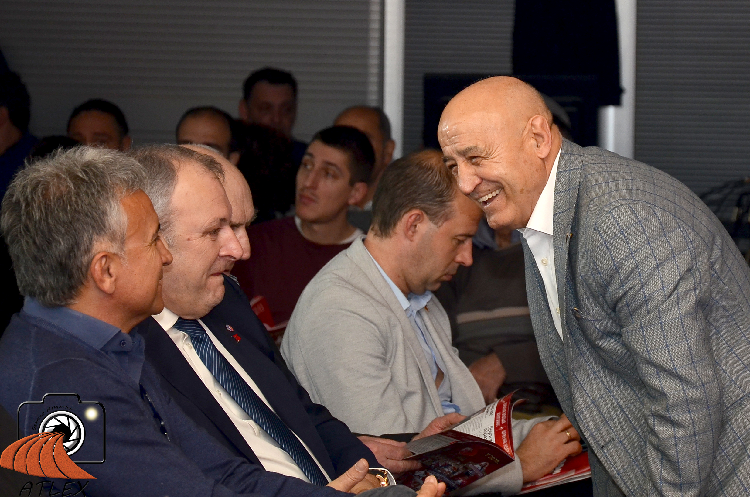 Dane Korica i Srđan Đoković, 75. rođendan SD Crvene zvezde