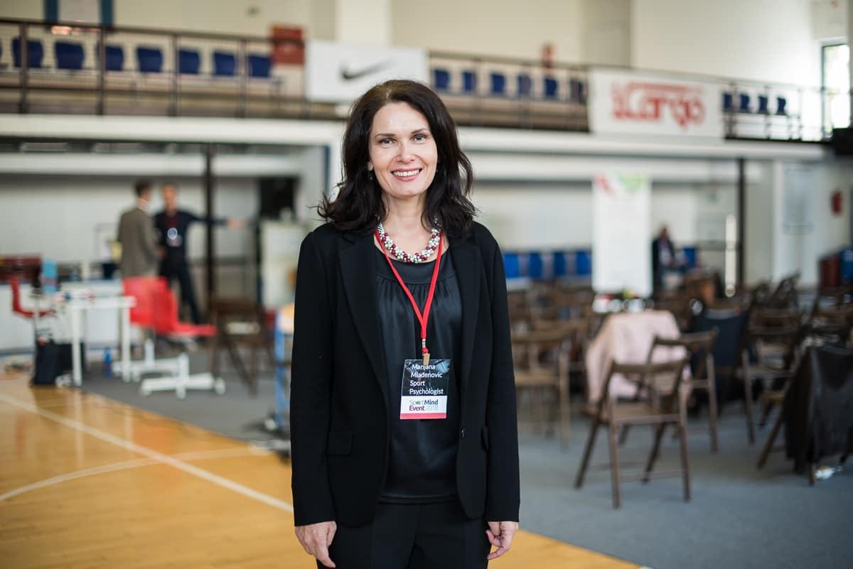 Marijana Mladenović, sportski psiholog