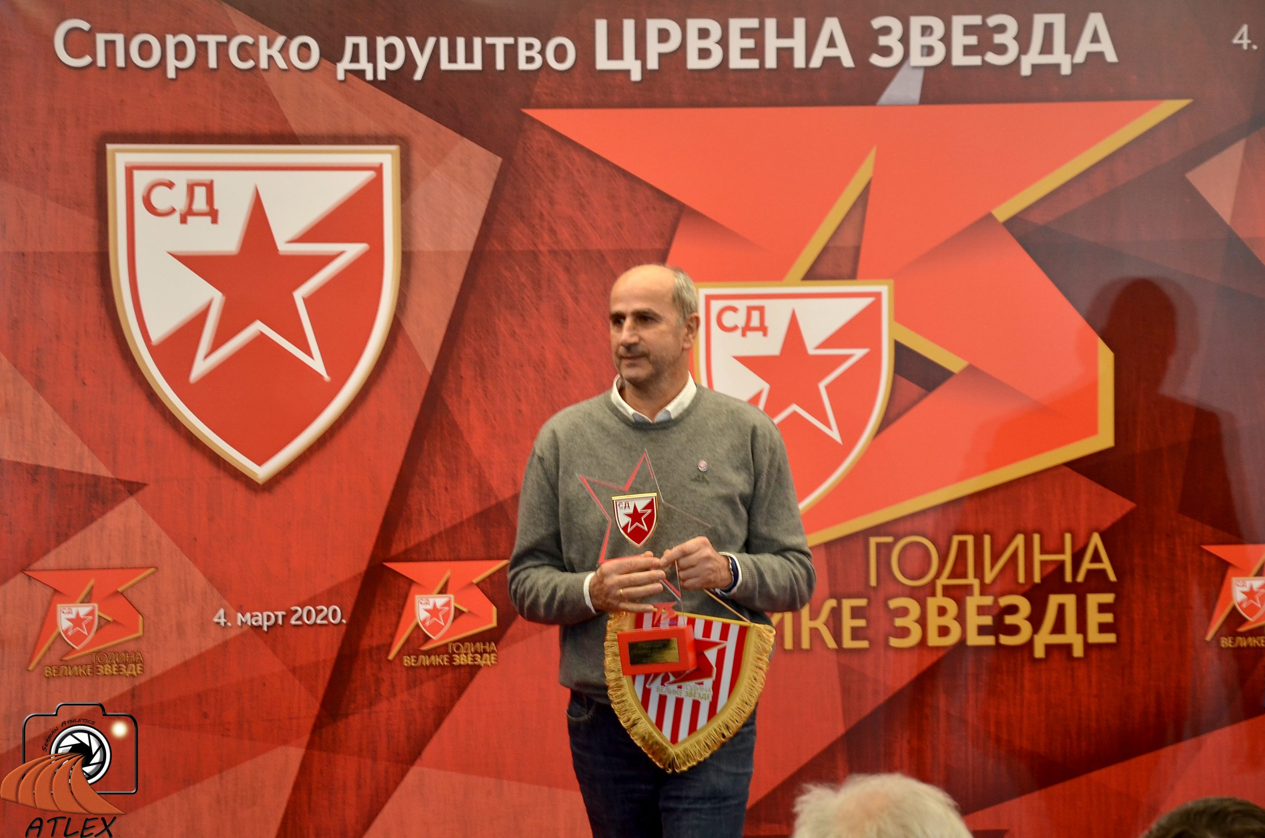 Milorad Jovančević, 75. rođendan SD Crvena zvezda