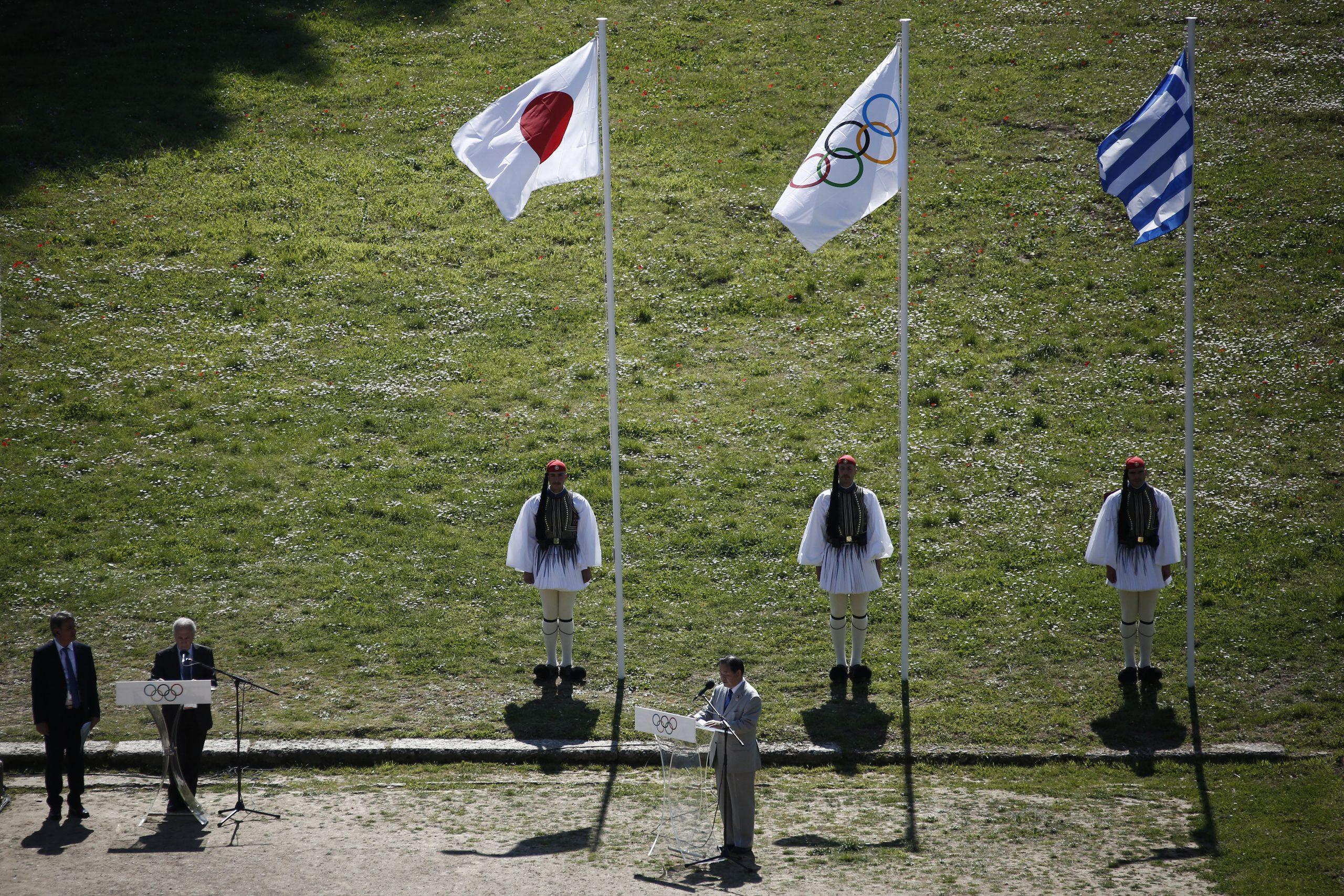 Upaljen olimpijski plamen za OI u Tokiju 2020