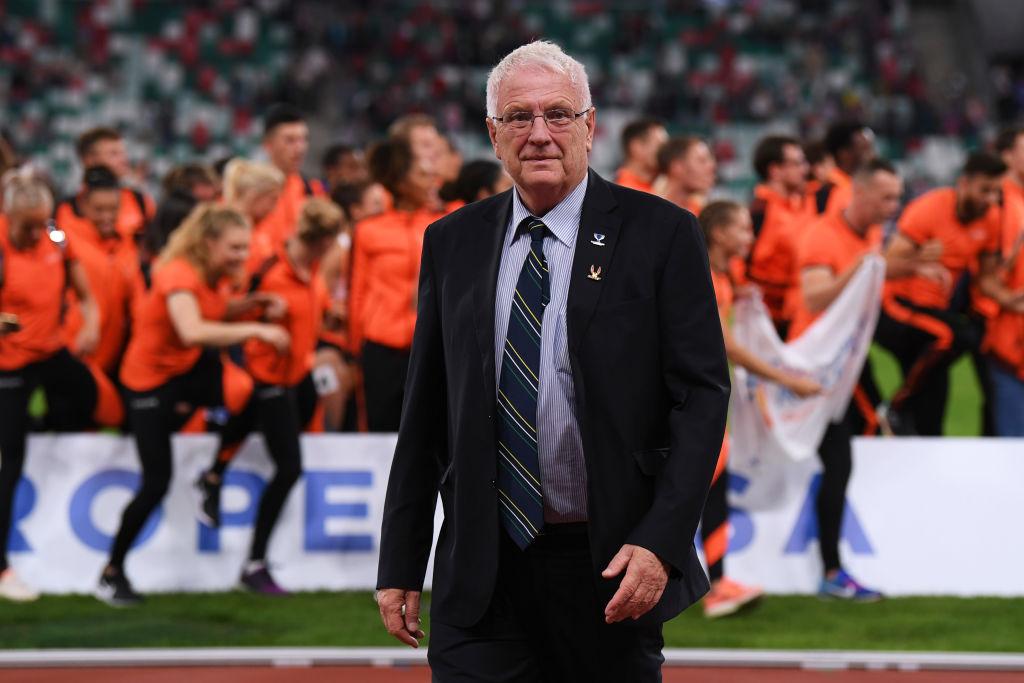 Sven Arne Hansen, predsednik Evropske atletike