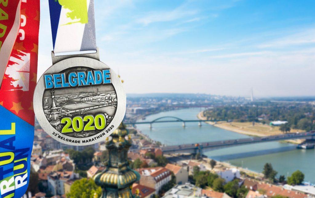 33. Beogradski maraton 2020, medalja