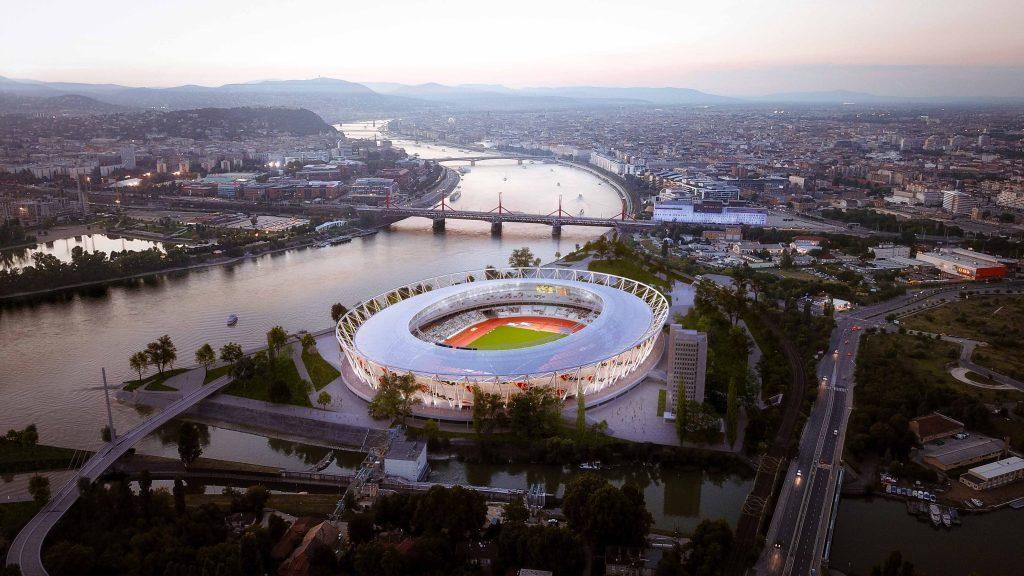 Atletski stadion u Budimpešti za Svetsko prvenstvo 2023