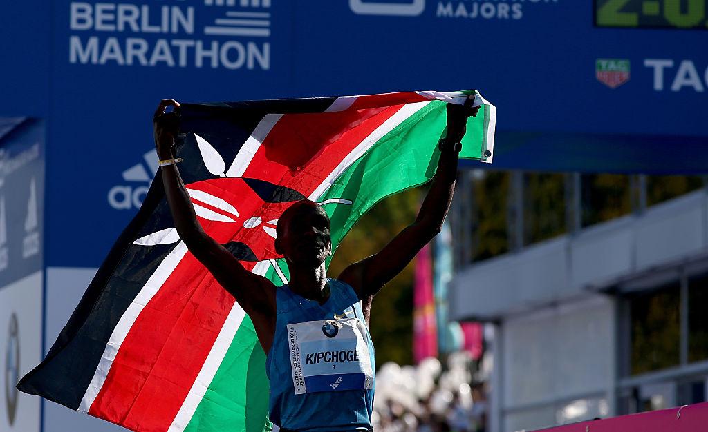Eliud Kipčoge, Kenijski maratonac