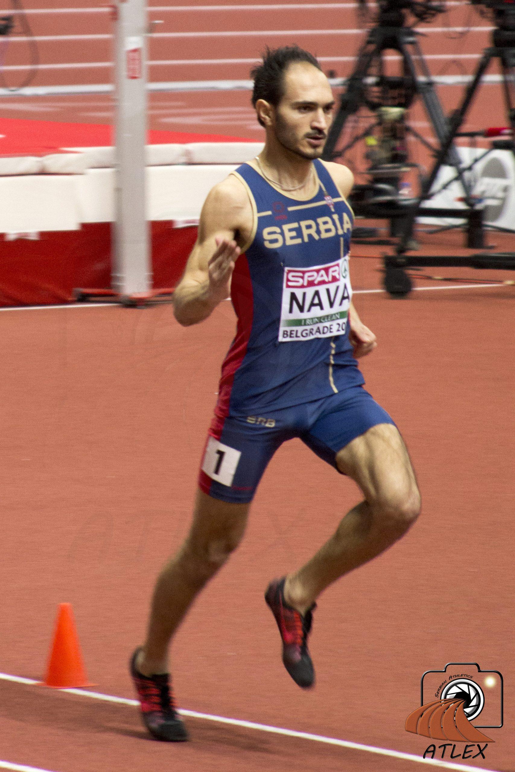 Goran Nava, dvoransko Evropso prvenstvo 2017., Beograd
