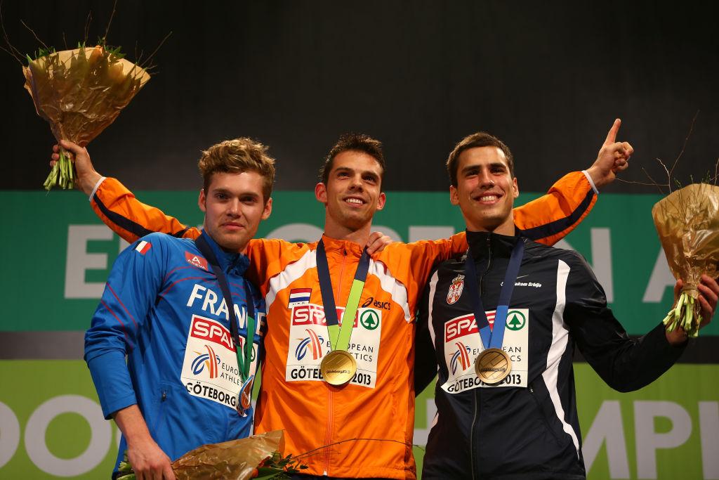 Mihail Dudaš, bronza, dvoransko EVropsko prvenstvo 2013., Geteburg