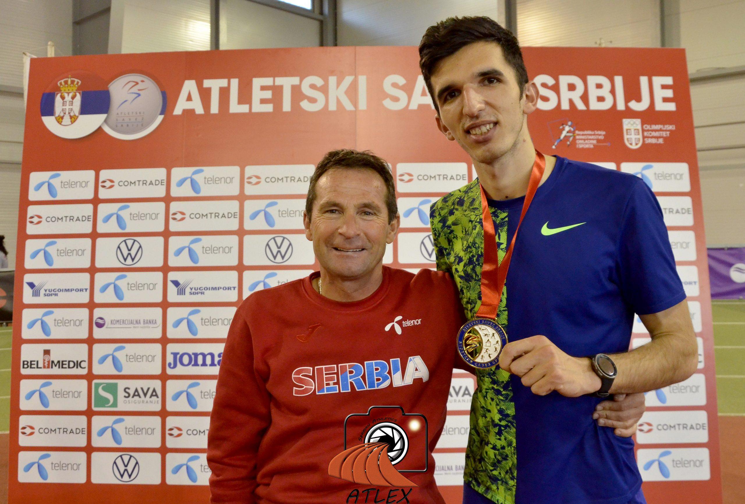 Rifat Zilkić i Elzan Bibić, dvoransko prvenstvo Srbije 2020