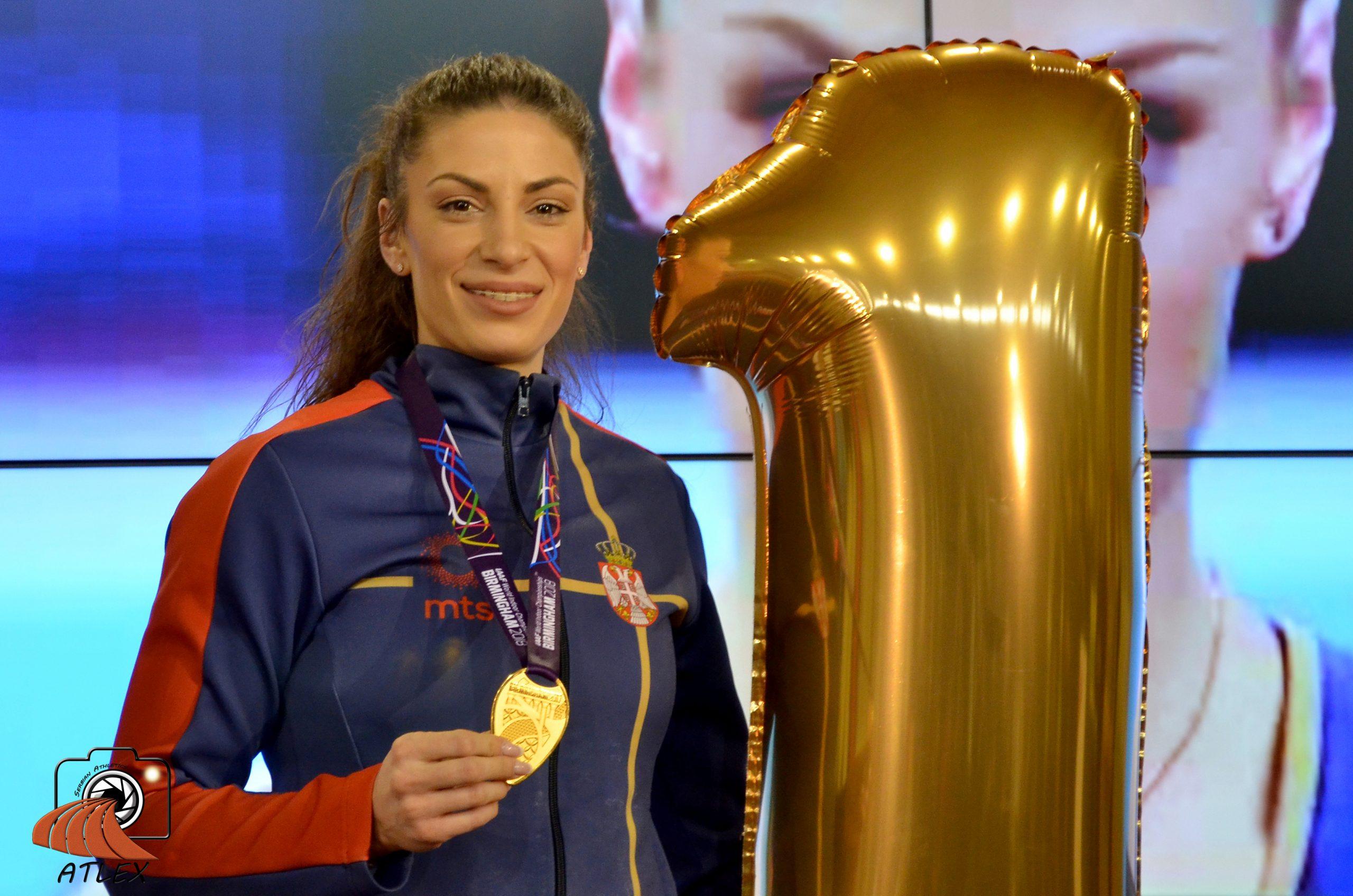 Ivana Španović, zlatna medalja sa Svetskog dvoranskog prvenstva 2018