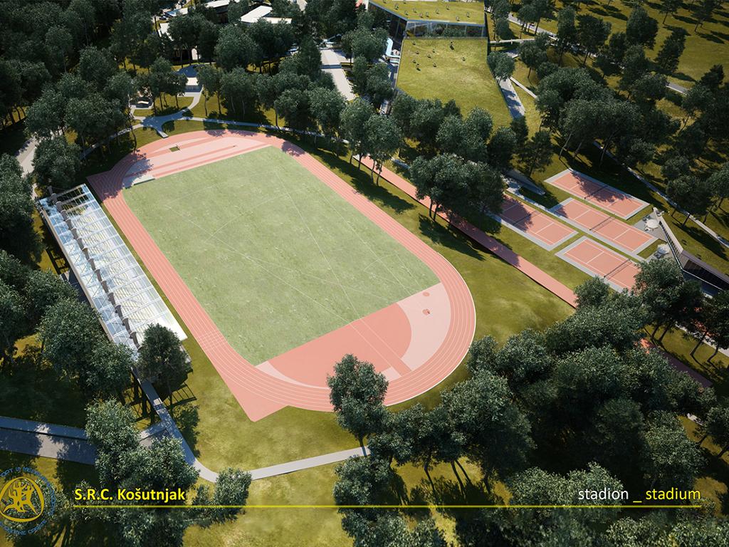 Novi atletski stadion u Košutnjaku