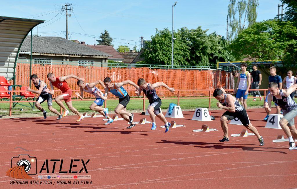 Start trke na 100 metara