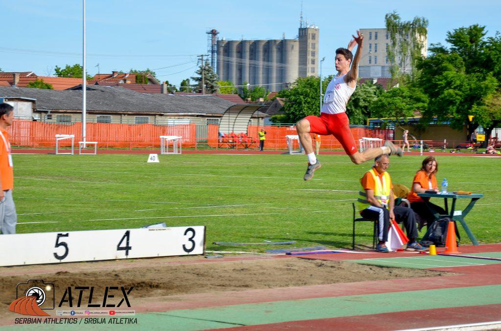 Petar Milinkov, skok udalj