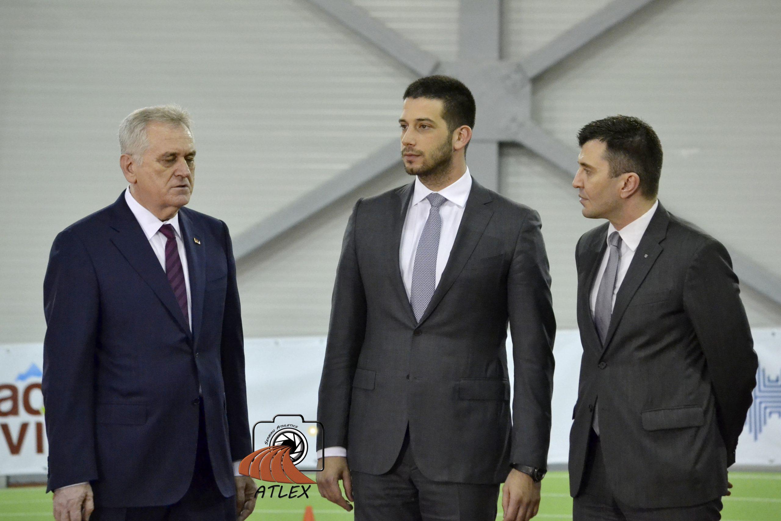 1. ''Serbian open'' 2016. - Tomislav Nikolić, Vanja Udovičić i Zoran Đorđević