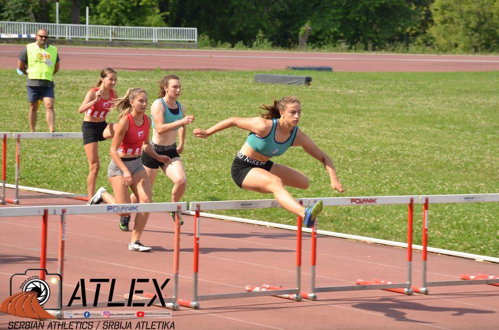 Marija Bukvić, 100m prepone