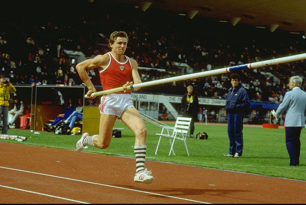 Sergej Bupka, skok sa motkom