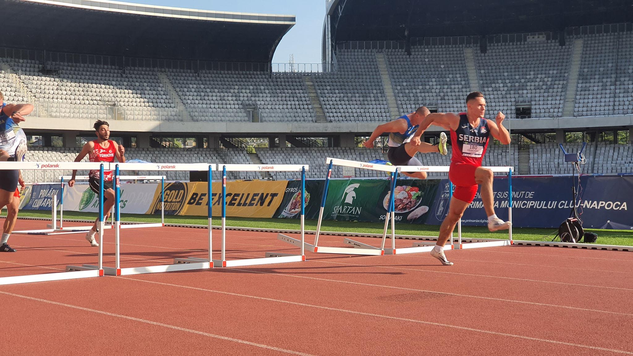 Aleksandar Grnović, 110m prepone, Balkanijada 2020