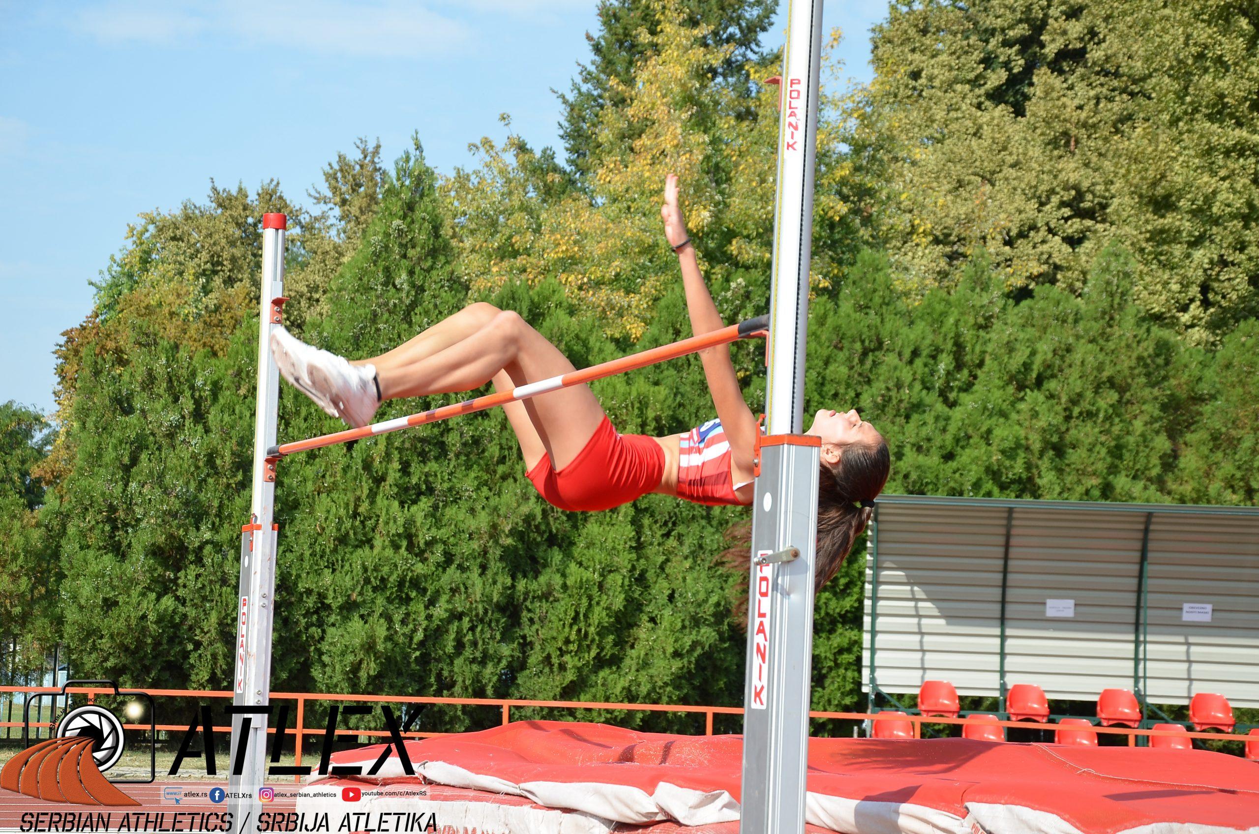 Angelina Topić, skok uvis u18 PS 2020