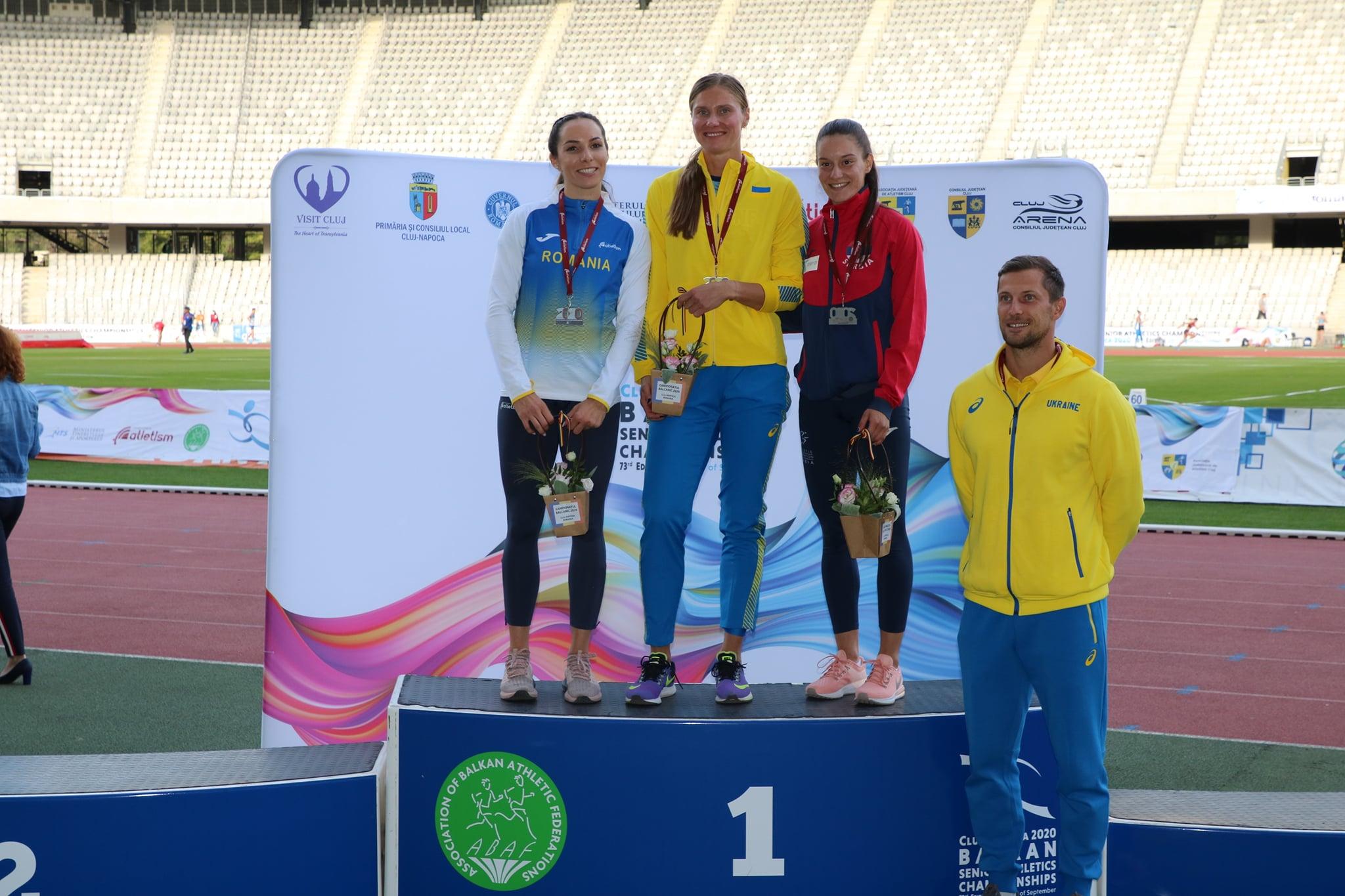 Anja Lukić, bronzana medalja, 100m prepone, Balkanijada 2020