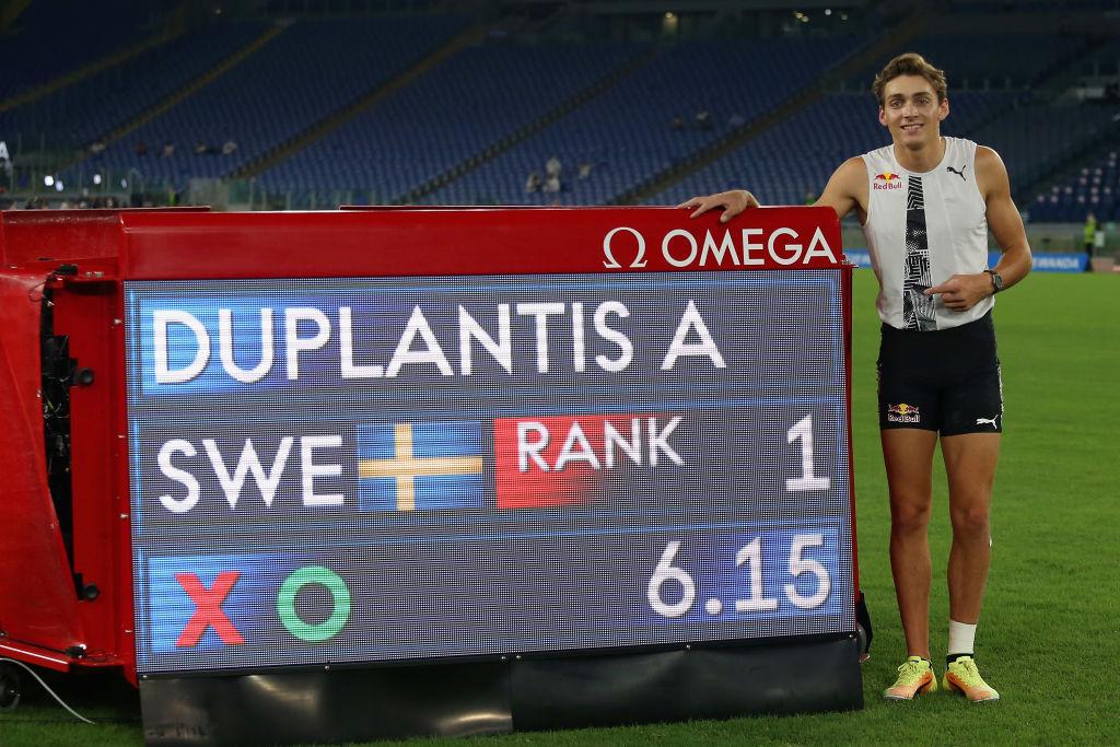 Armand Duplantis, svetski rekord u skoku sa motkom - 6,15m