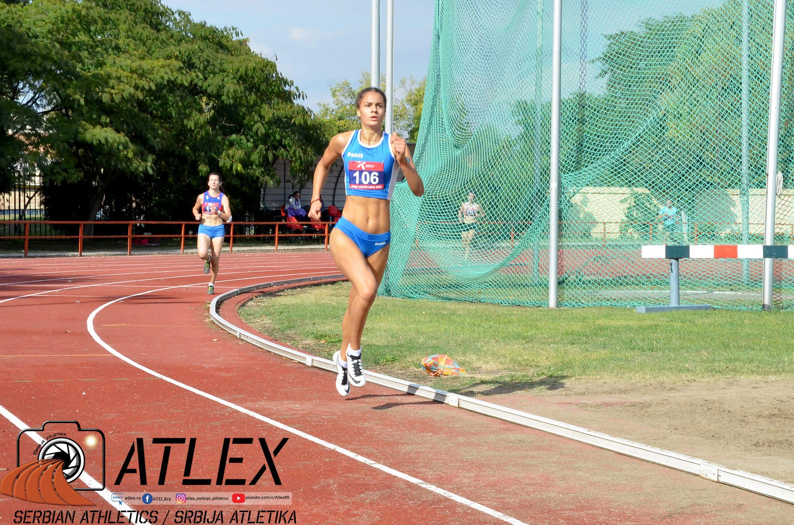 Marina Živković, prvenstvo Srbije u višeboju 2020