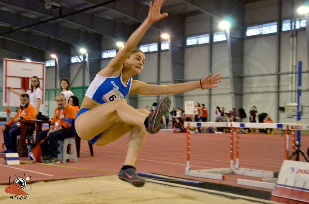 Marina Živković, skok udalj, dvorana, U20 iNR 2019