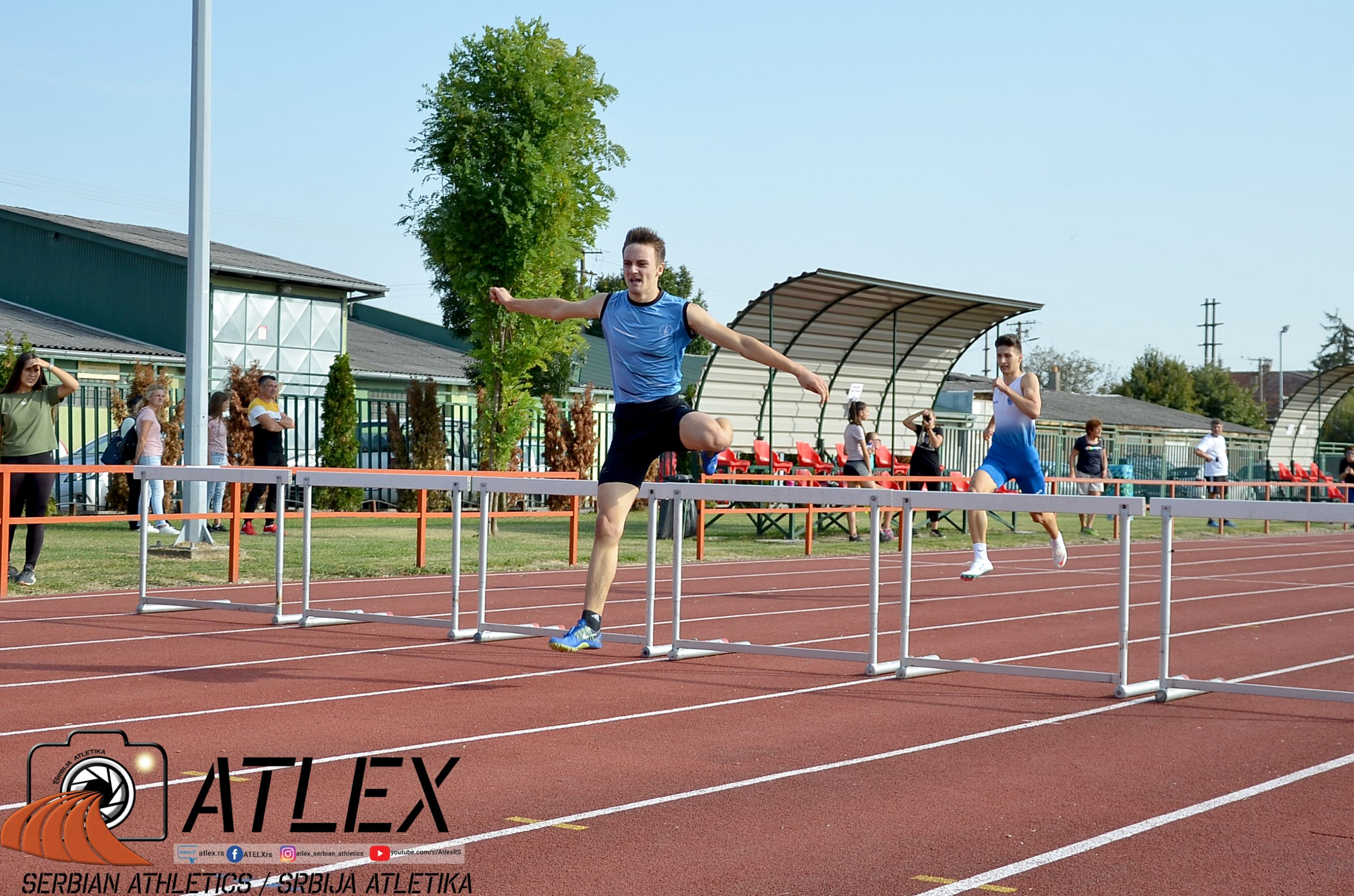 Nikola Kostić i Aleksa Sekulić, 400m prepone, U18 PS 2020