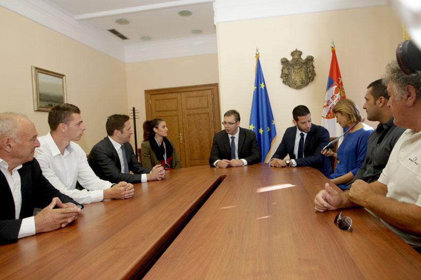 Španović, Kolašinac, Jelača, Bekrić kod Vučića i Udovičića