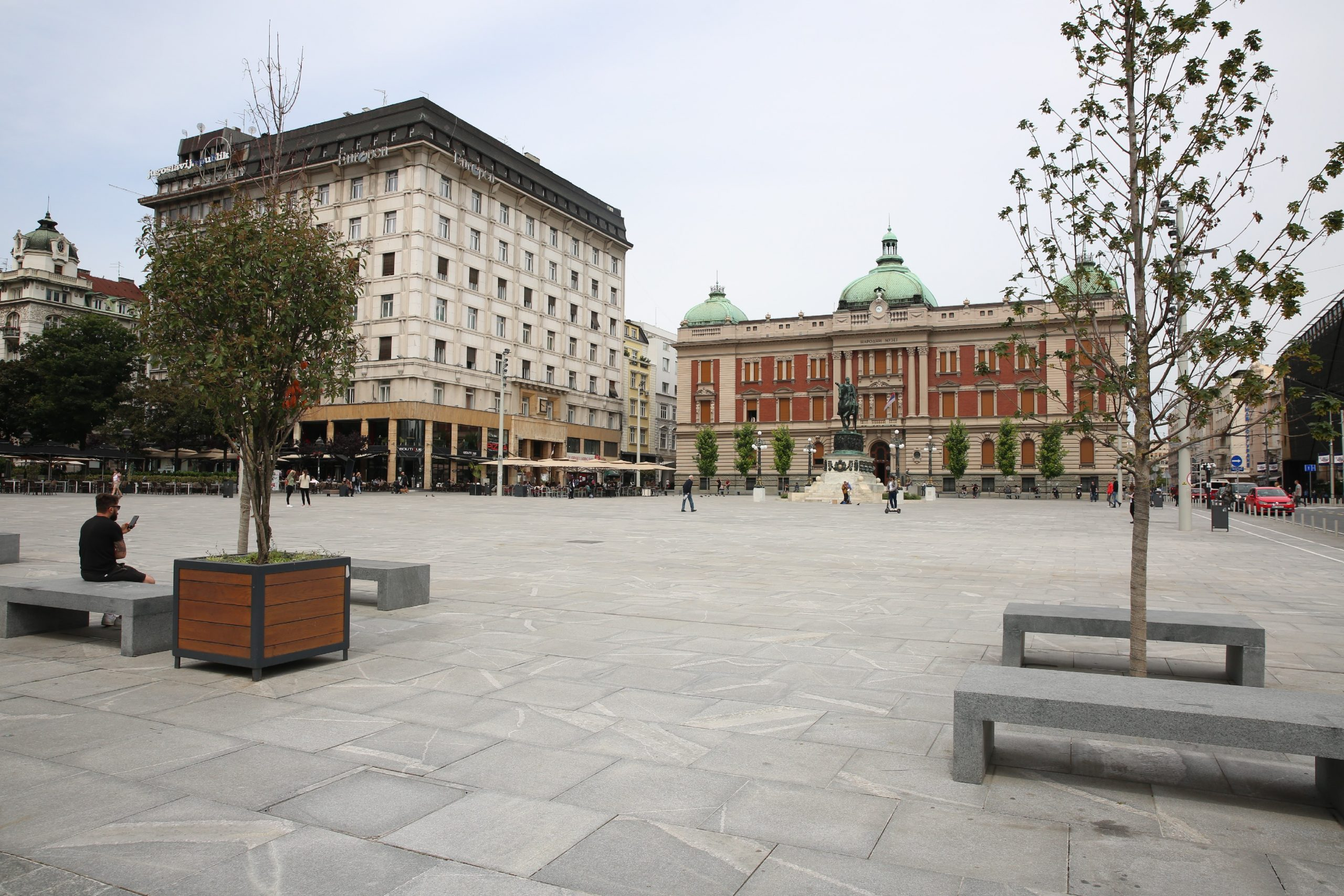 Trg Republike, Beograd 2020