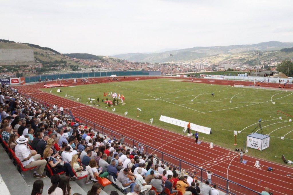 Atletski stadion Novi Pazar, Balkanijada 2017