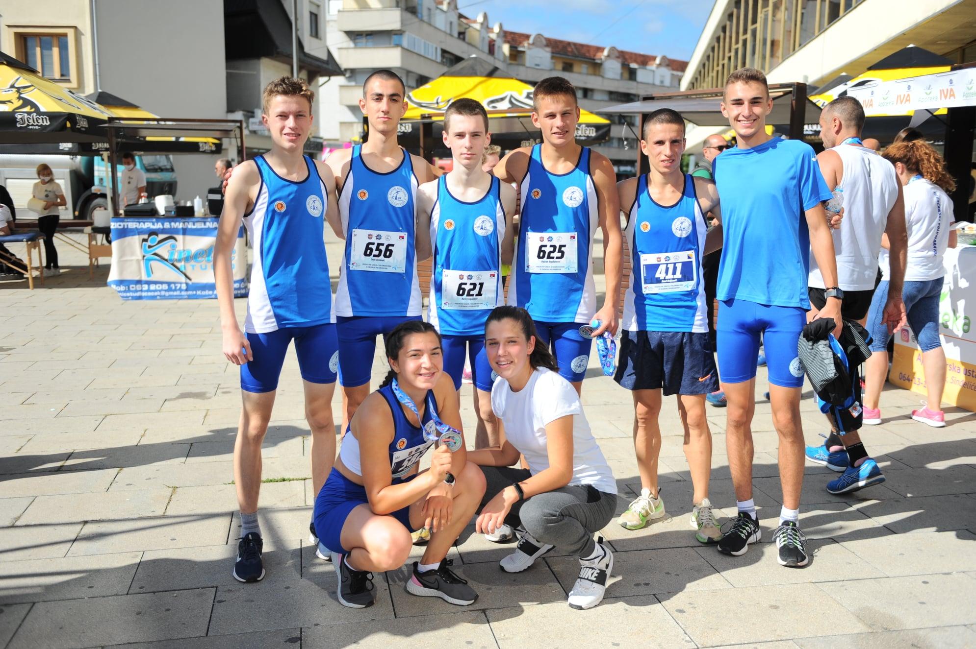 ČAAK Čačak, Čačanski polumaraton 2020, prvenstvo Srbije u polumaratonu