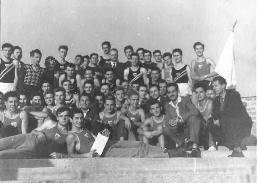 AK Crvena zvezda 1953.