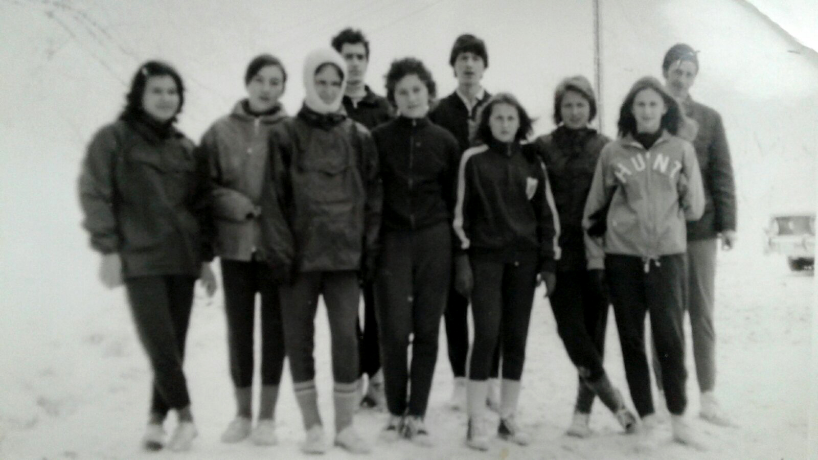 Pripreme Bambijeve grupe na Rtnju sa poečtka 1970-tih