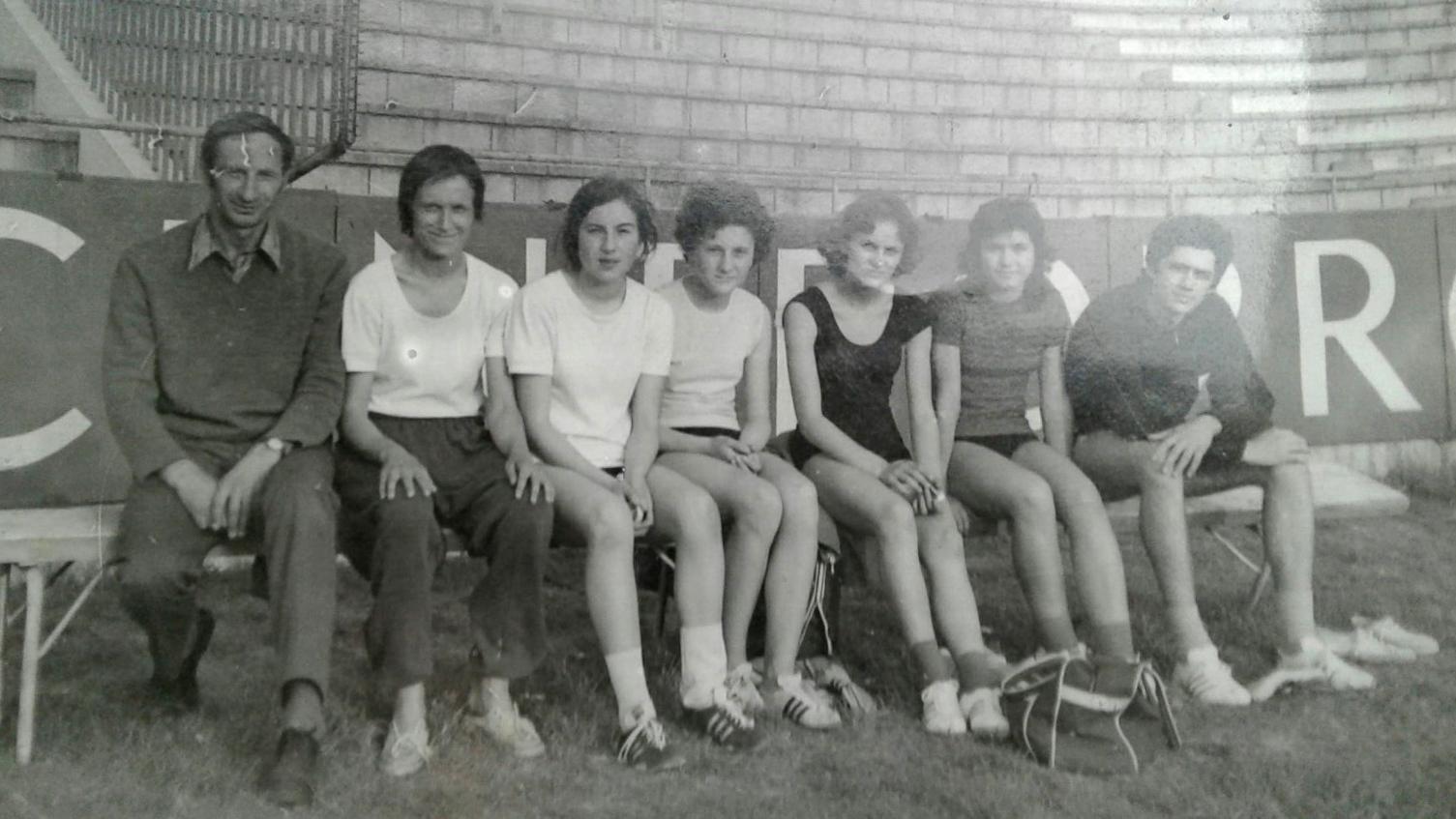 Grupa trenera Bambija sa poečtka 1970-tih