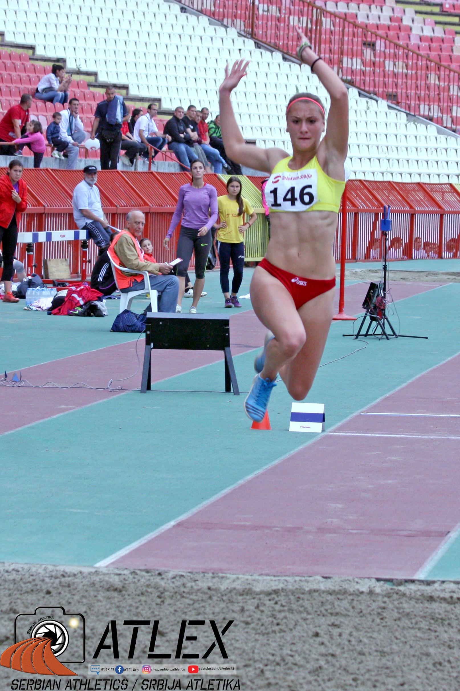 Tijana Antić, troskok