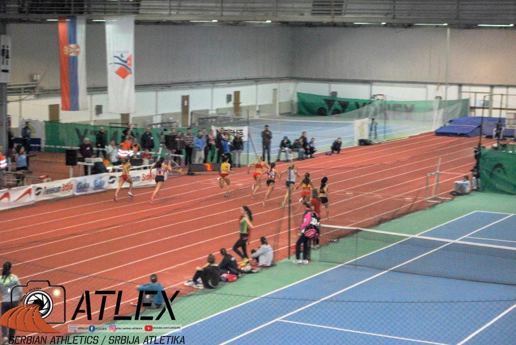 Dvorana u Novom Sadu, prvenstvo Srbije 2013