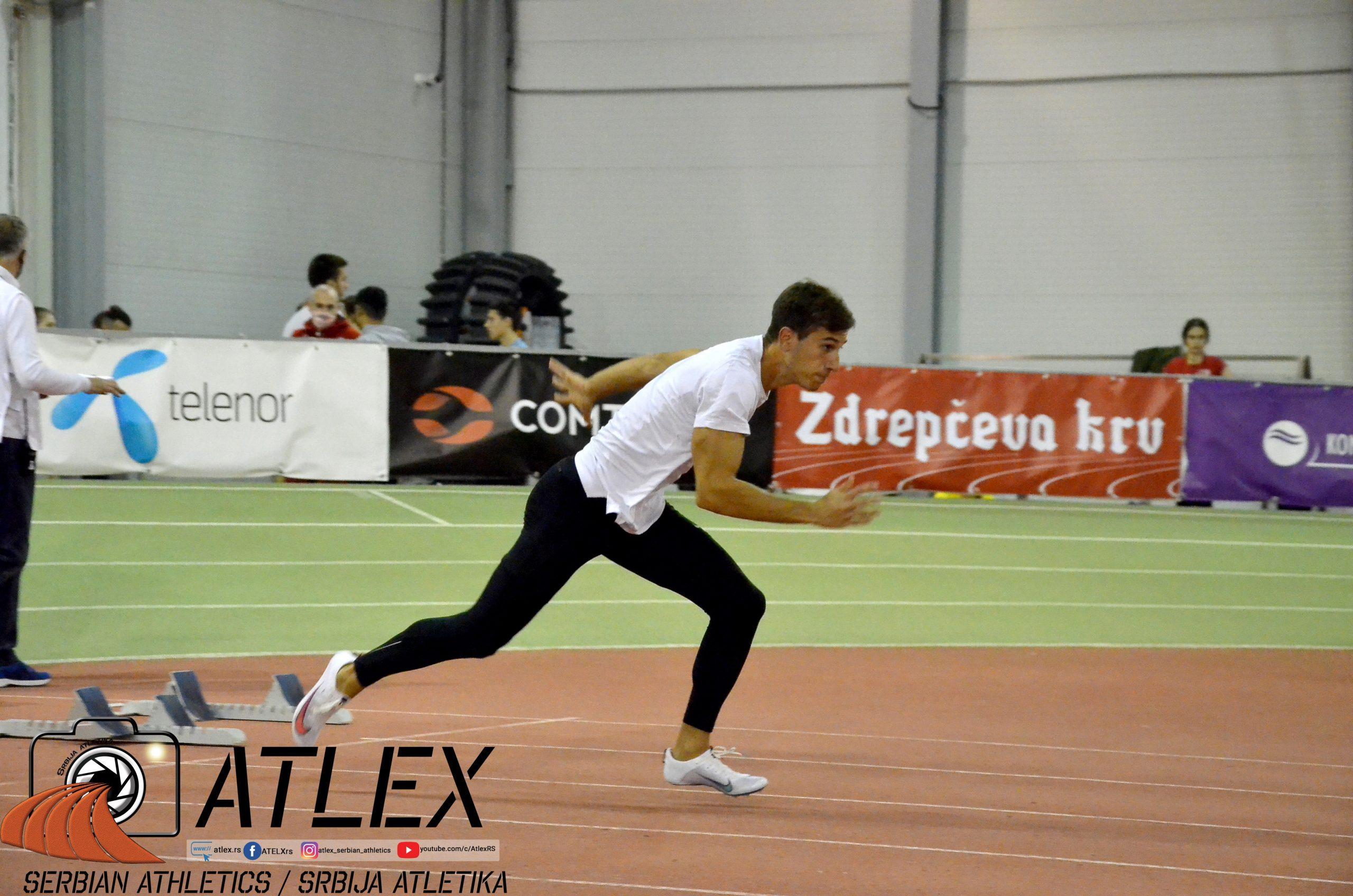 Strahinja Jovančević, 60m, Novogodišnji miting Crvene zvezde 2020