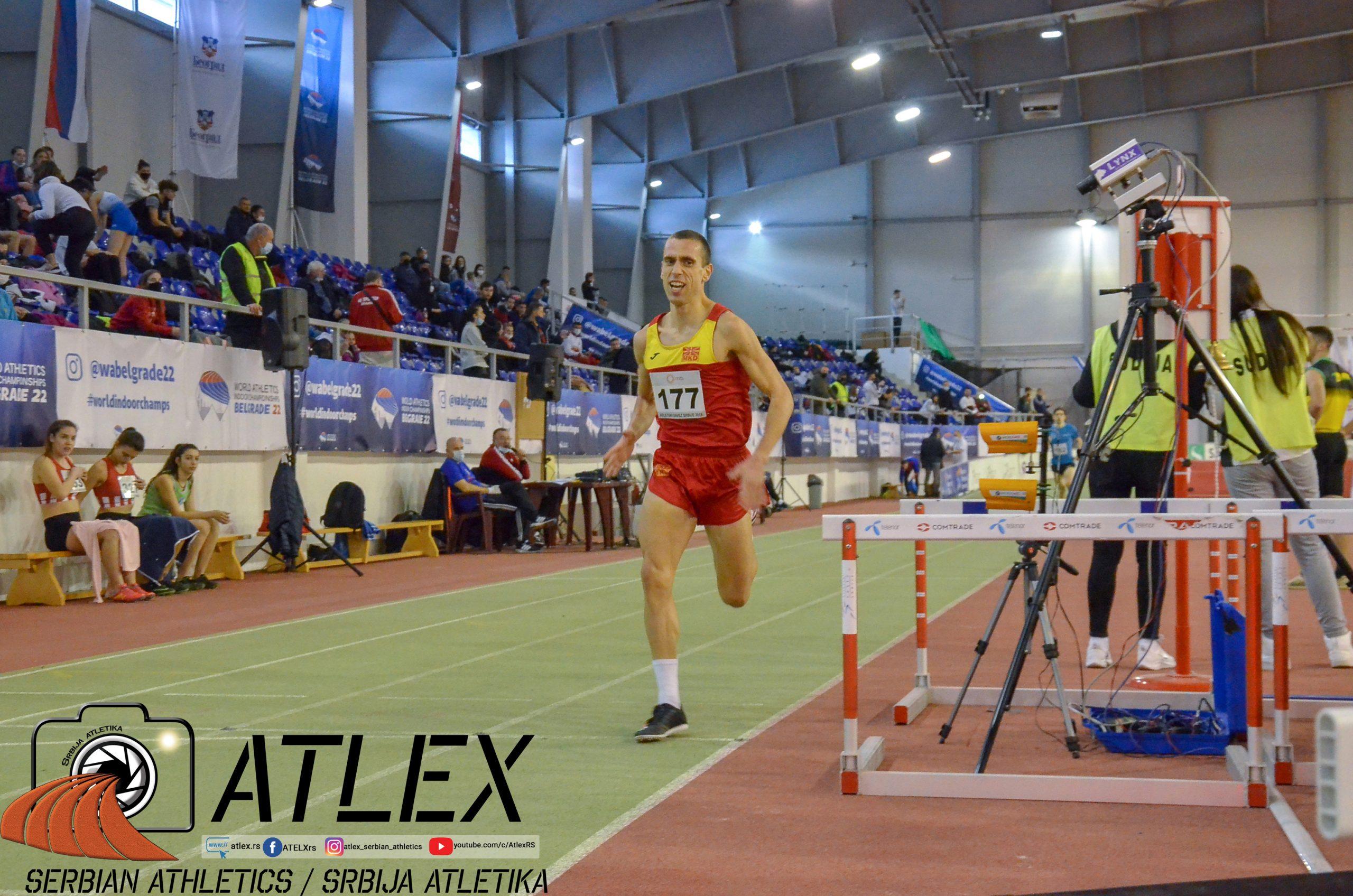 Dario Ivanovski, Makedonija 1500m