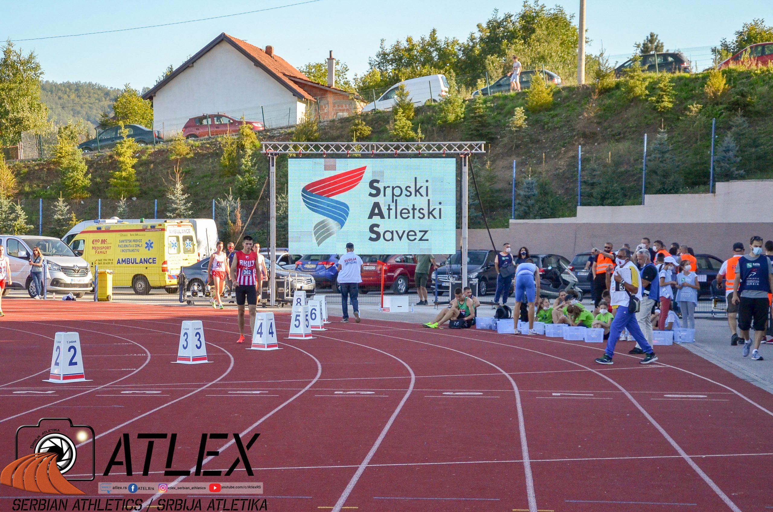 Prvenstvo Srbije 2021, novi skrin ekran