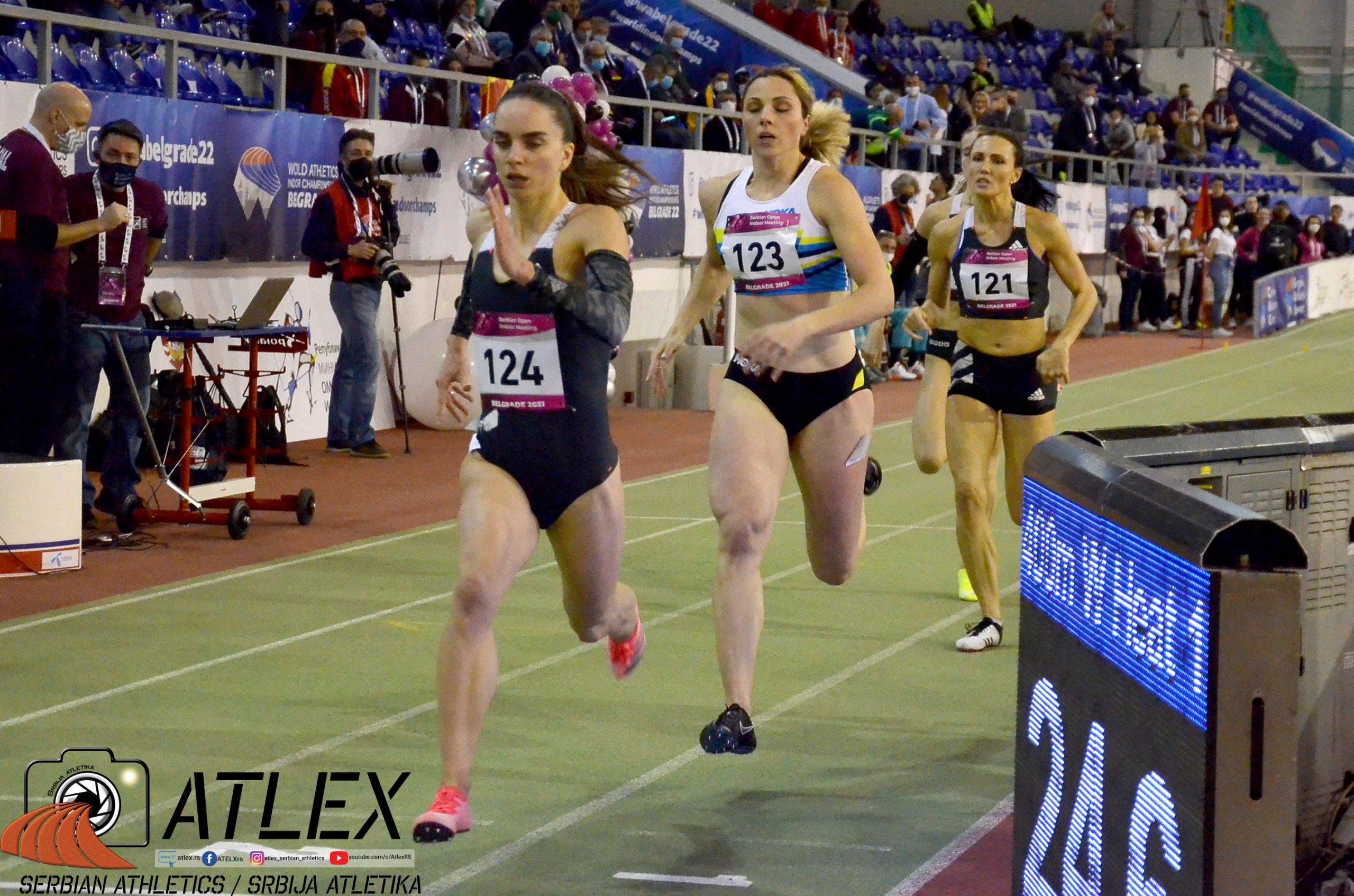 400m žene, 6. Serbian open 2021