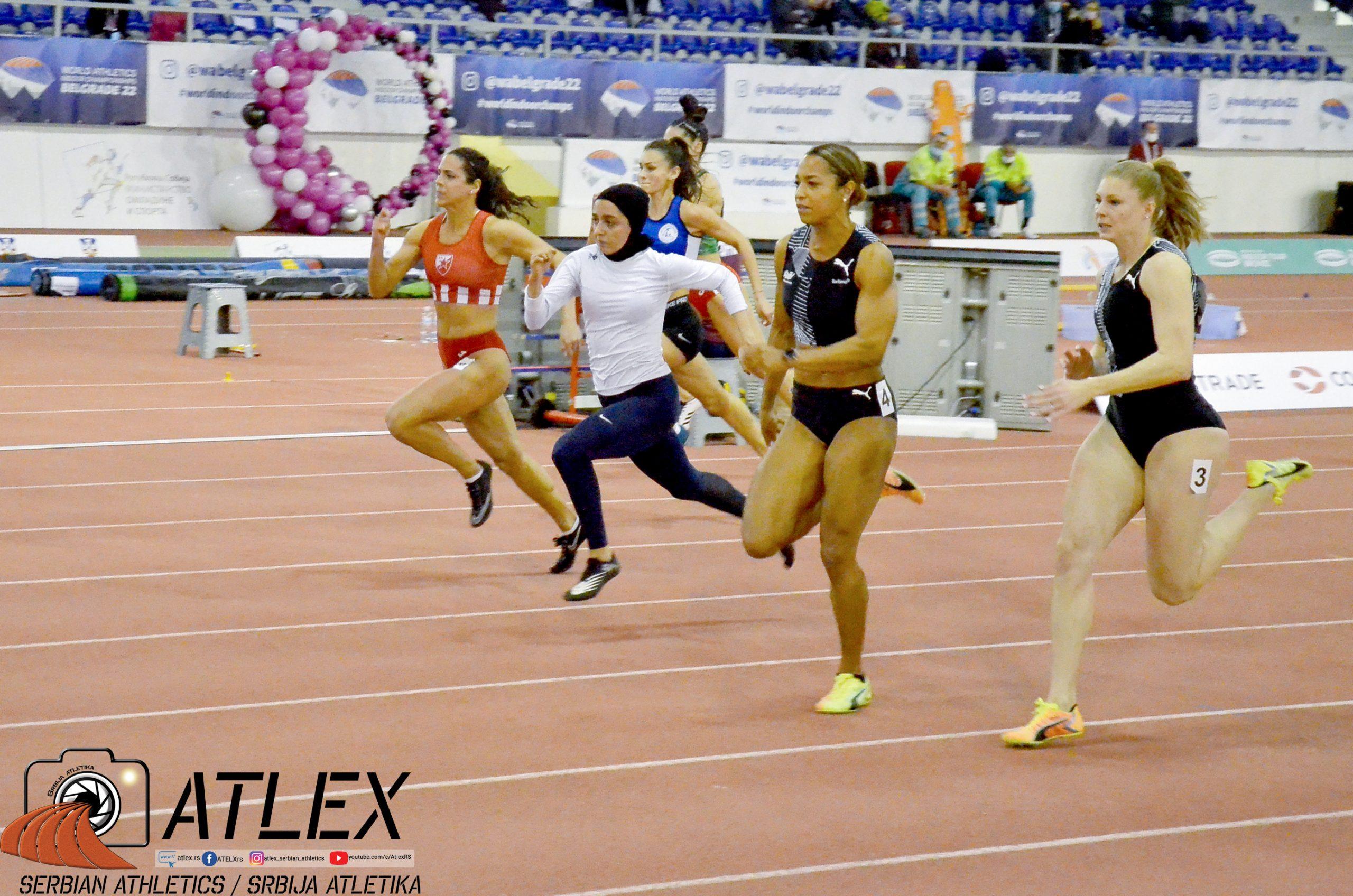 60m žene finale, 6. Serbian open 2021