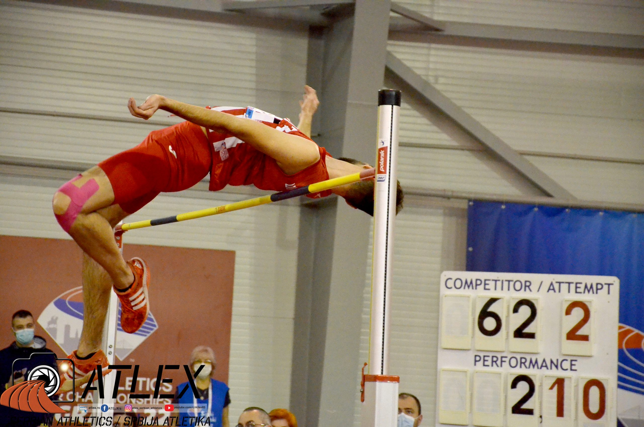 Jasmin Halili, prvenstvo Srbije 2021
