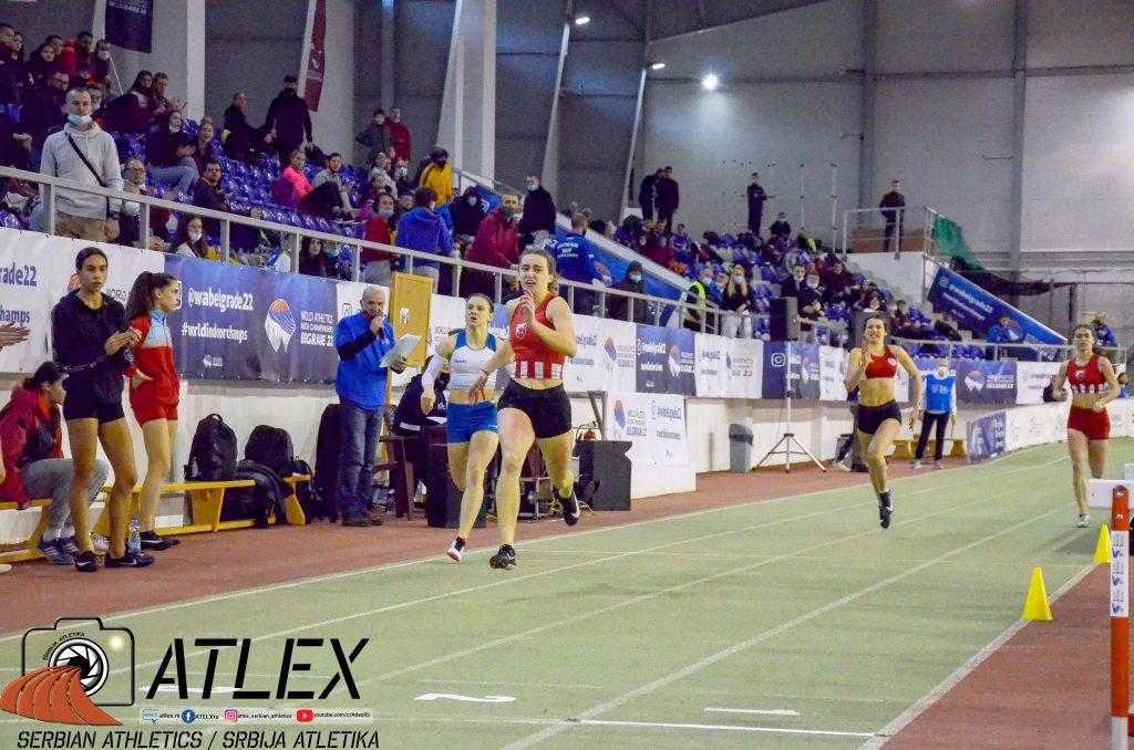 Tijana Japundžić, u20 rekord Srbije na 200m