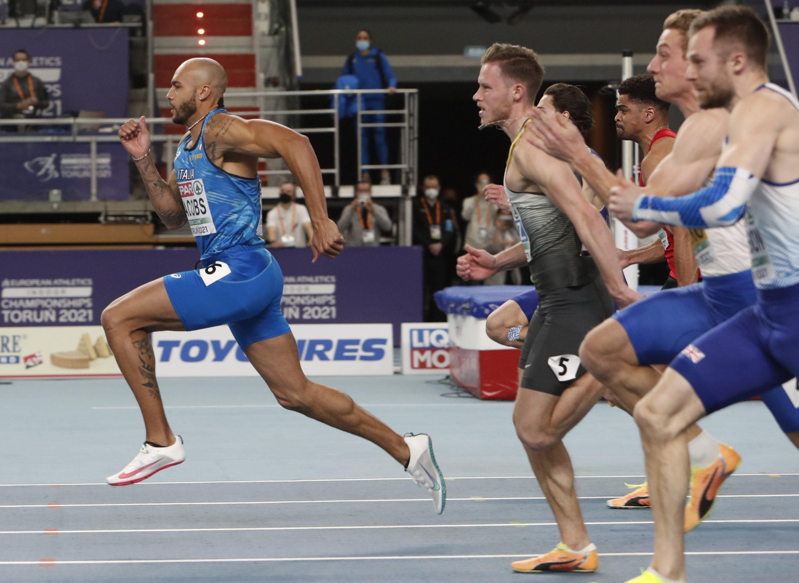 Lamont Marsel Džekobs, prvak Evrope 2021 na 60m