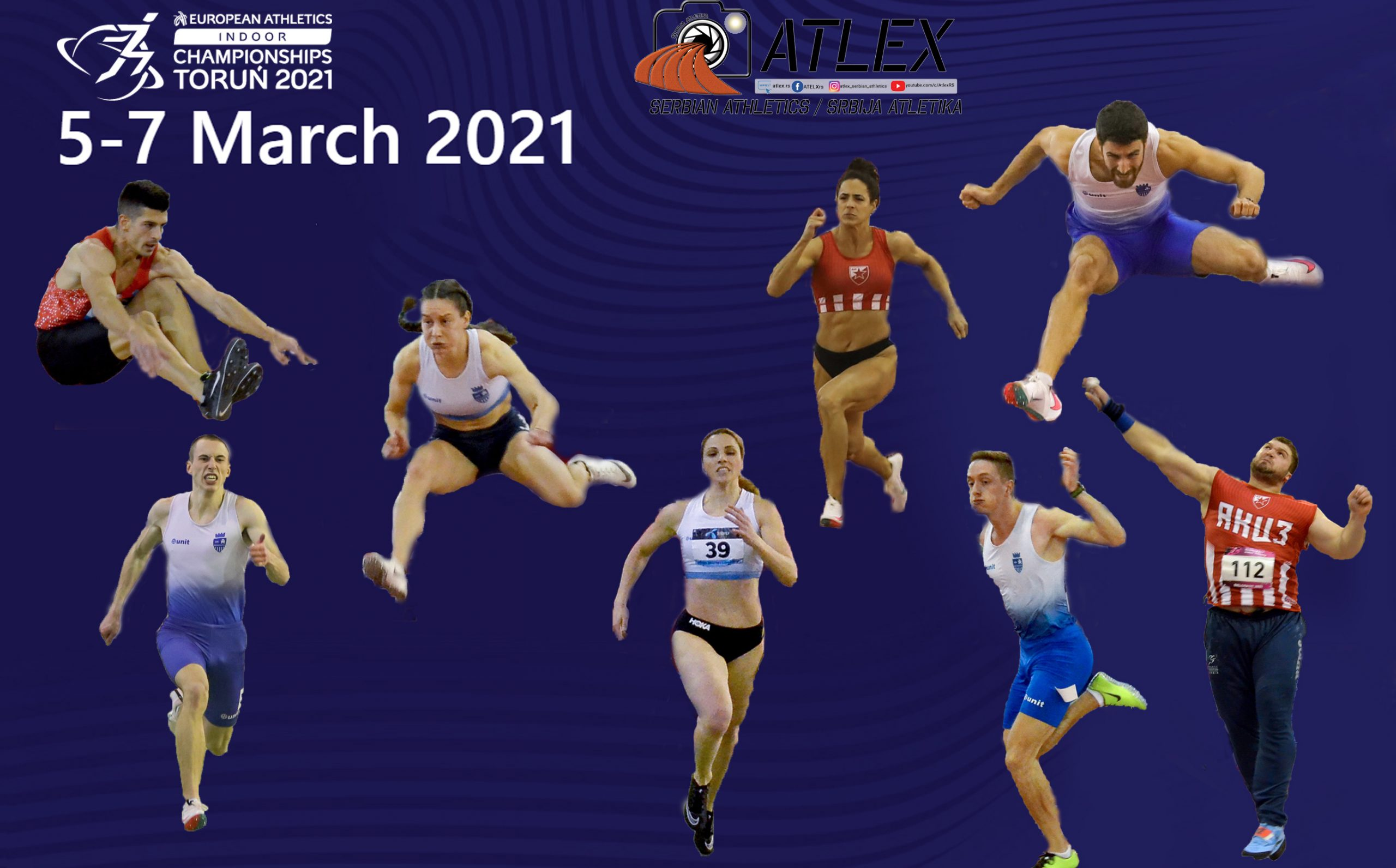 Torunj 2021 - plakat srpski reprezentativci