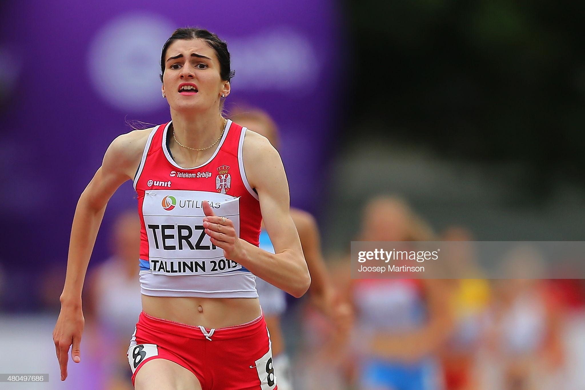 Amela Terzić, U23 EP 2015, Talin